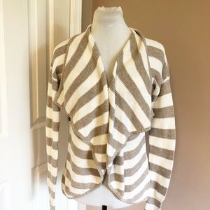 Express Striped Cotton Sweater Sz Small